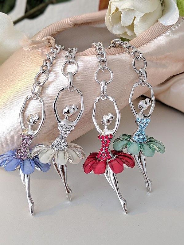 American Dance Supply 101S-Ballerina key chain