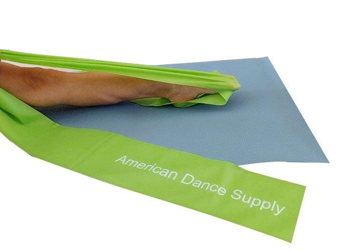 American Dance Supply ADS022-TPE Green Elastic Band-MEDIUM