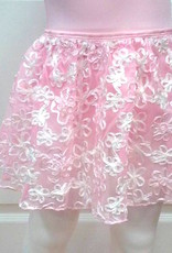 Basic Moves 2297FH-Ombre Ribbon Skirt-PINK-2-3