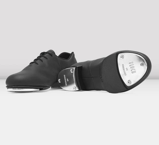 Bloch S0388L-Flex Split Sole Tap Shoe-BLACK