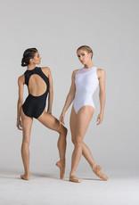 Ballet Rosa NADEGE-Asymmetrical Crew Neck Leotard