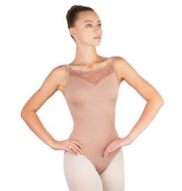 Ballet Rosa AURA-Leotard Dentelle Extensible  Bretelles Entrelacées