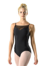 Ballet Rosa AURA-Leotard With Stretch Lace Sweetheart Strap design