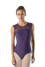 Ballet Rosa RITA-Lace Front Oval Lace Back Leotard