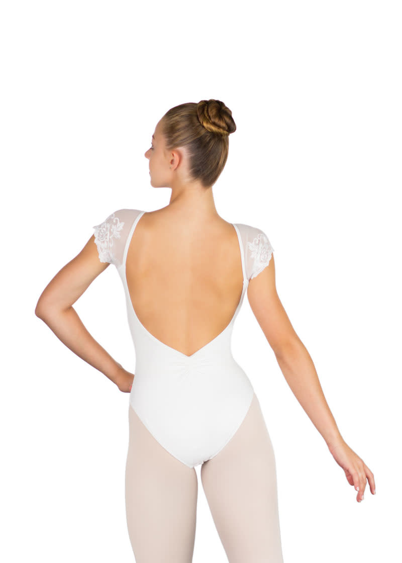 Ballet Rosa JOSÉPHINE-Cap Sleeve Low Back Leotard