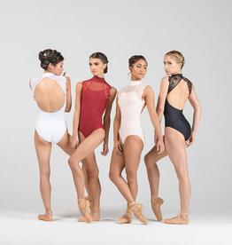 Ballet Rosa BERENICE-Leotard Dentelle brodée