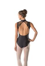 Ballet Rosa BERENICE-Lace Cap Sleeve Leotard