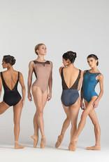 Ballet Rosa ANTONIA-Leotard  Dos Ouvert Empiècement en V
