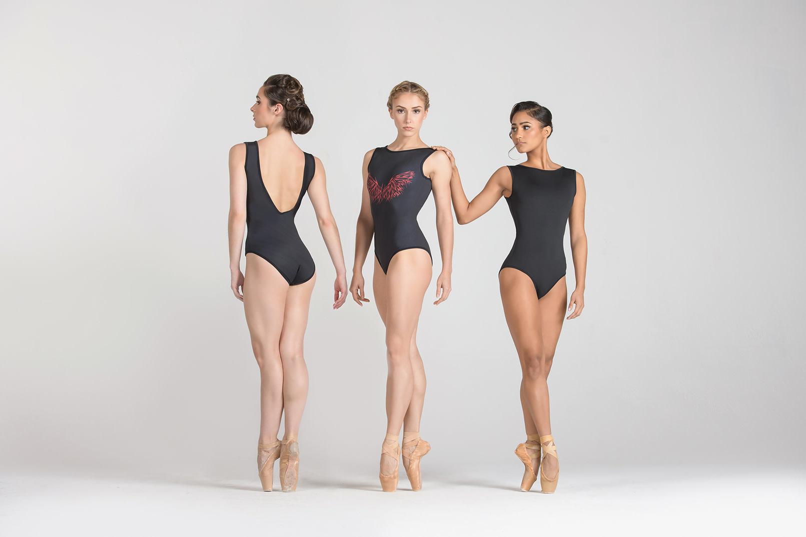 Ballet Rosa NOLA-Reversable Leotard-NOIR-38 (S)
