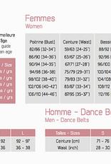 Ballet Rosa GINGER-Zip Front Floral Back Leotard-NOIR-38 (S)