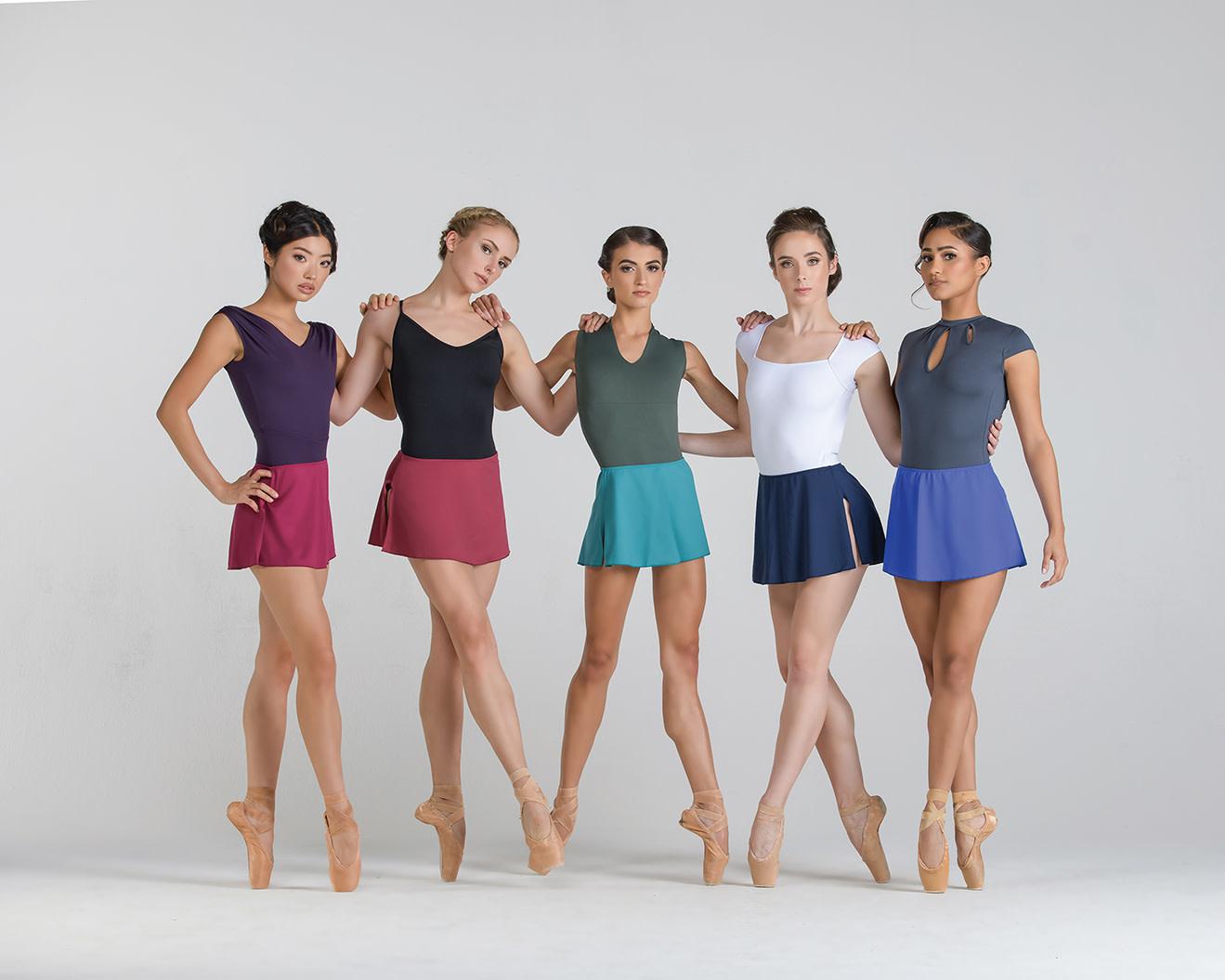 Ballet Rosa MARTHE-Pull Skirt Microfiber
