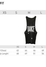 Like G. LG-TT-126B-Tank Top Dance-BLACK