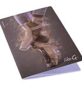 Like G. LG-QPQ-143-Squared Note Book