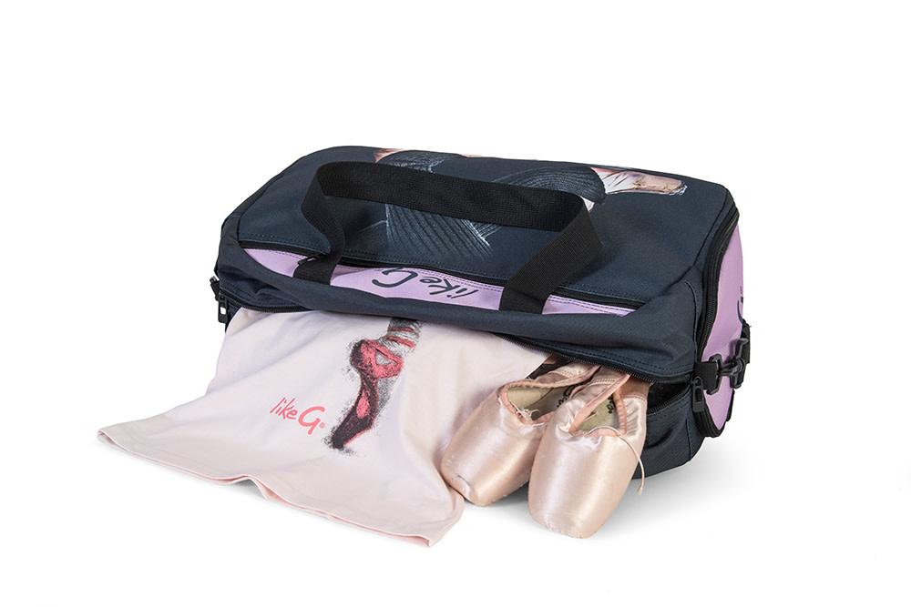 Like G. LG-SPORTBAG-15-Bag Dance Graphic