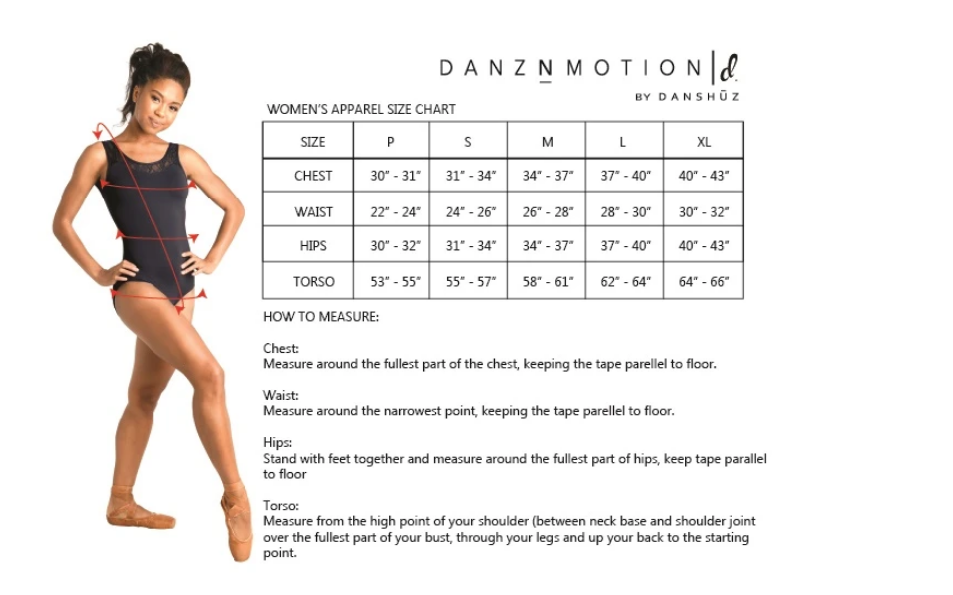 Danshuz 21309A-Twist Front Top *Dancer Things*