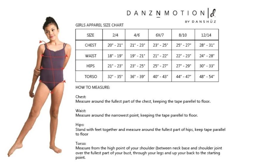 Danshuz 21309C-Twist Front Top *Dancer Things*