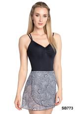 SoDanca RDE-2218-Bice Mesh Wrap Skirt