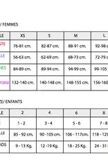 Intermezzo 31591-Leotard Manches 3/4 avec Fermeture Éclair Devant Insertion de Mesh