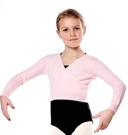 Sansha 84BO1004V-Kay Mock Wrap Sweater