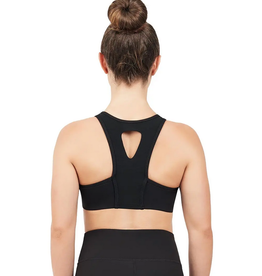 Capezio 11650T-Child High Neck Bra Top-BLACK