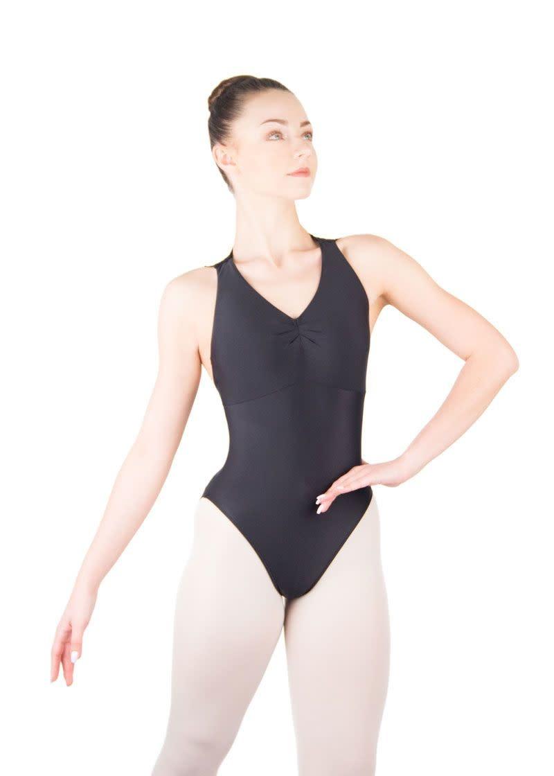 Ballet Rosa ESTHER-Pinch Front Zip Back Leotard