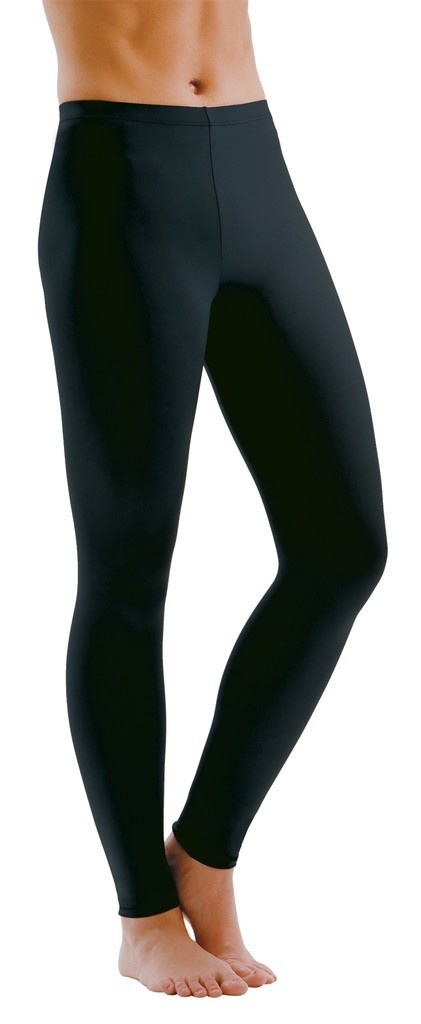 MotionWear 7130-601-Ankle Pants Supplex-BLACK