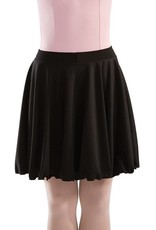 MotionWear 1363-Character Skirt Child-BLACK-MC