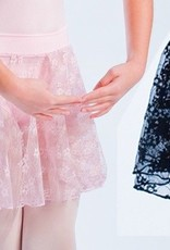 MotionWear 1011-578-Pull-On Skirt Child-BLACK-SMALL