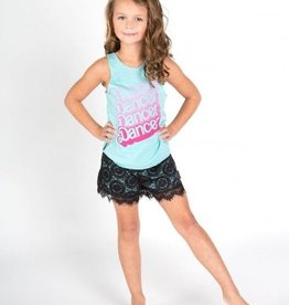 Sugar & Bruno D7560-Dancer Racerback-BLUE-ONE SIZE CHILD