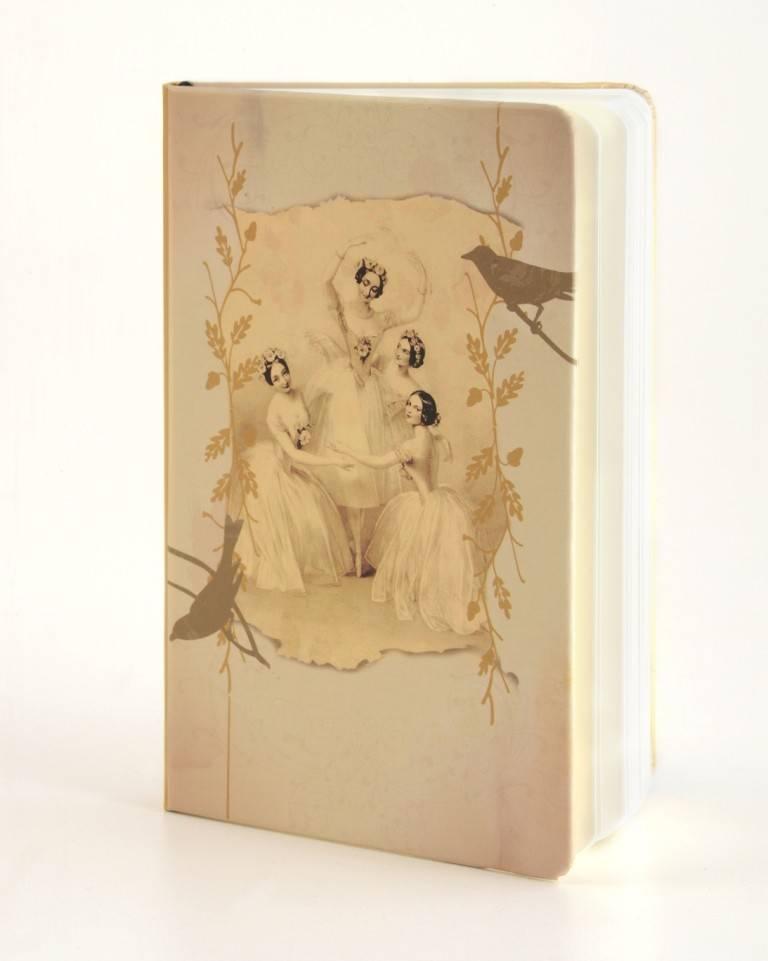 B Plus 303VIN04-Vintage Marie Taglioni Notebook 3''x 5