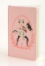 B Plus 304BP02-Ballet Paper Notebook ,3''x 5-CATS