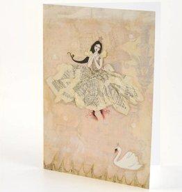 B Plus 202VV04-Vanessa Valencia Cartes Embosser 5''x 7 '' -Swan dance