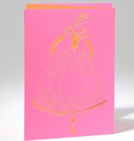 B Plus 201CO01-Caroline Ochoa Carte Vierge Découpée au Laser 41 / 2''x 61/4 '' - Releve