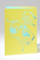 B Plus 201CO03-Caroline Ochoa Cartes Vierges Découpées au Laser 41 / 2''x 61/4 '' - A la Seconde