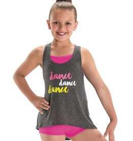 MotionWear 4874-Dance x3 Stripe Tank- LC