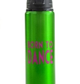 B Plus BP-Born To Dance Aluminium Water Bottle