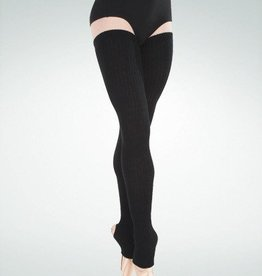 BodyWrappers 92-Extra-Long Stirrup Leg Warmers 48""