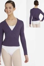 Capezio CS301-Long Sleeve Wrap Sweater Adult