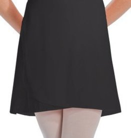 MotionWear 1022-Wrap Tie Thigh Length Skirt-ADULT