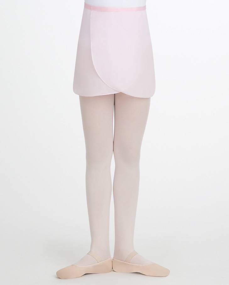 Capezio N272C-Georgette Wrap Skirt Child-ONESIZE