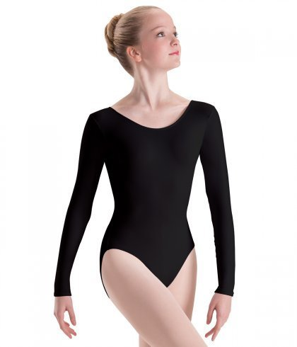 MotionWear 2102-Long Sleeve Leotard Adult