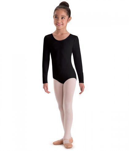 2f22c79aa MotionWear 2102-Long Sleeve Leotard Child - Artiste Claude dancing shop