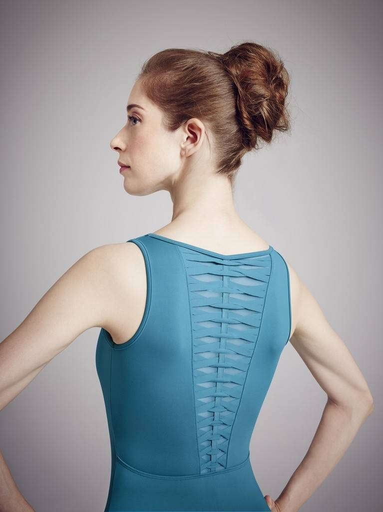 Bloch L3035-Spliced Twist Tank Leotard-SMALL