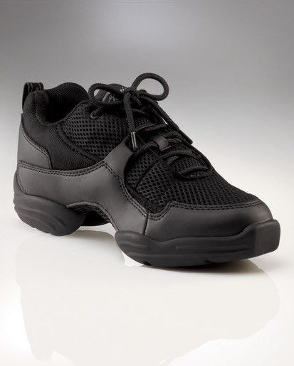 Capezio DS11-HipHop Fierce Dansneaker-BLACK