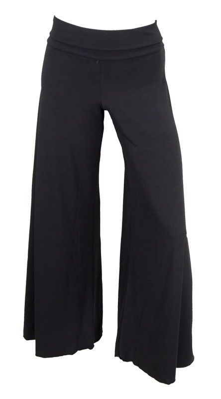 Capezio 7429-Flair Pants-BLACK