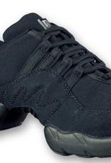 Bloch S0528L-Boost Canvas Dance Sneakers-BLACK