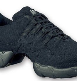 Bloch S0528L-Boost Canvas Dance Sneakers-BLACK