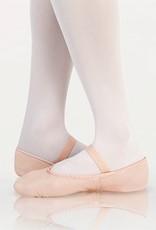 Angelo Luzio 201A-Ballet slipper Leather-BLACK