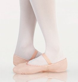 Angelo Luzio 201A-Souliers de Ballet en cuir-NOIR