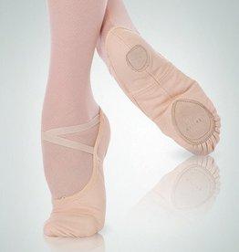 Angelo Luzio 246A-Wendy Souliers de Ballet en Canevas Extensible-NOIR